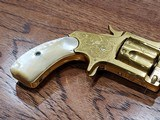 Marlin 38 Standard 1878 Revolver Factory Engraved 24kt Gold-Plated - Ultra Rare *REDUCED* - 4 of 21