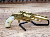 Marlin 38 Standard 1878 Revolver Factory Engraved 24kt Gold-Plated - Ultra Rare *REDUCED* - 18 of 21
