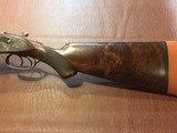 """W.C. Scott Monte Carlo B 12 gauge - 2 BARREL SET 26"""" & 28"""" Steel & Damascus - 12 of 15"""