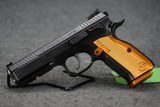 BRAND NEW CZ SHADOW 2 ORANGE PISTOL! THE ONE TO HAVE!
