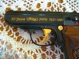 Walther PPK Collector's Package .380 - 50 Year Anniversary Limited Edition - 913 from 1000- No Import Markings - 9 of 15