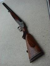 Merkel 203 E Sidelock O/U Shotgun in 16/70 Exclusive Engraving from 303E