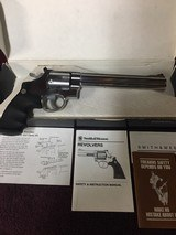 Smith and Wesson Model 629-4 Classic Satin Stainles Steel Double Action, 44 Magnum Revolver. - 1 of 10
