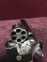 Smith and Wesson Model 629-4 Classic Satin Stainles Steel Double Action, 44 Magnum Revolver. - 4 of 10