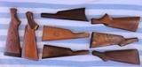 Gunsmith Old Rifle & Shotgun Stock Lot - 1 of 12