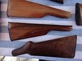 Gunsmith Old Rifle & Shotgun Stock Lot - 9 of 12