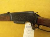 """Browning, BLR, .308 Win.,20"""" bbl., 7lbs 4oz.,14"""" L.O.P., Made in Belgium,Engraved by T.J.Kaye. - 6 of 9"""