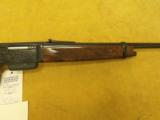 """Browning, BLR, .308 Win.,20"""" bbl., 7lbs 4oz.,14"""" L.O.P., Made in Belgium,Engraved by T.J.Kaye. - 4 of 9"""