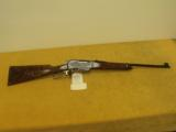 "Browning, BLR, .308 Win.,20"" bbl., 7lbs 4oz.,14"" L.O.P., Made in Belgium,Engraved by T.J.Kaye."