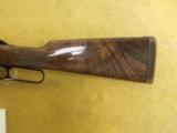 """Browning, BLR, .308 Win.,20"""" bbl., 7lbs 4oz.,14"""" L.O.P., Made in Belgium,Engraved by T.J.Kaye. - 7 of 9"""