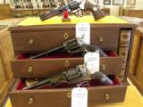 "Colt,""Bi-Centennial"" Set,Second Model Dragoon,Single Action Army,&Python,Three Revolver Set. - 1 of 7"