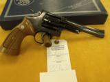 Smith & Wesson, 53-2,.22 Rem. Jet,6' bbl.,40 oz, Mfg 1962-68,New in box.