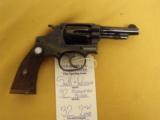 "Smith & Wesson, .32 Regulation Polie, .32 S&W Long, 3 1/4"" bbl., 22 oz., Mfg. 1917-42"