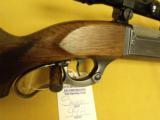 "Savage, 99R, .300 Savage, 24"" bbl., 13 3/4"" L.O.P. With Bushnells ""ScopeChief"" 4X scope. - 4 of 14"