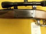 "Savage, 99R, .300 Savage, 24"" bbl., 13 3/4"" L.O.P. With Bushnells ""ScopeChief"" 4X scope. - 11 of 14"
