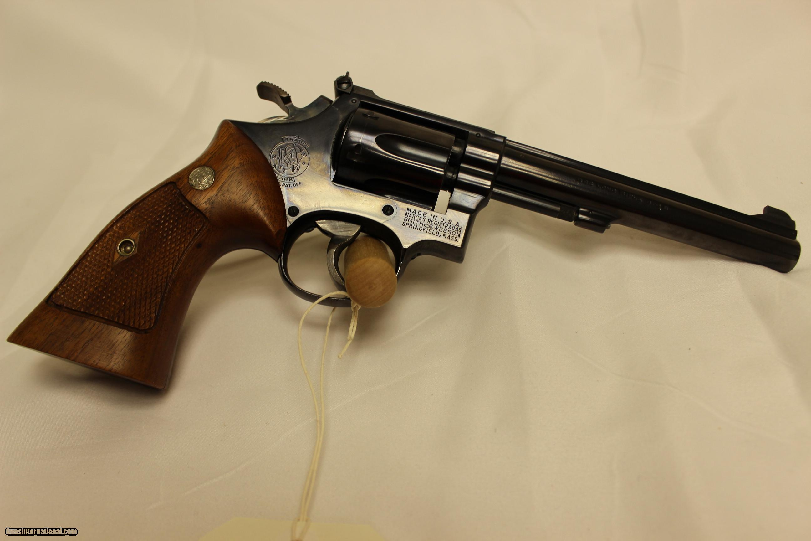 smith and wesson k 22