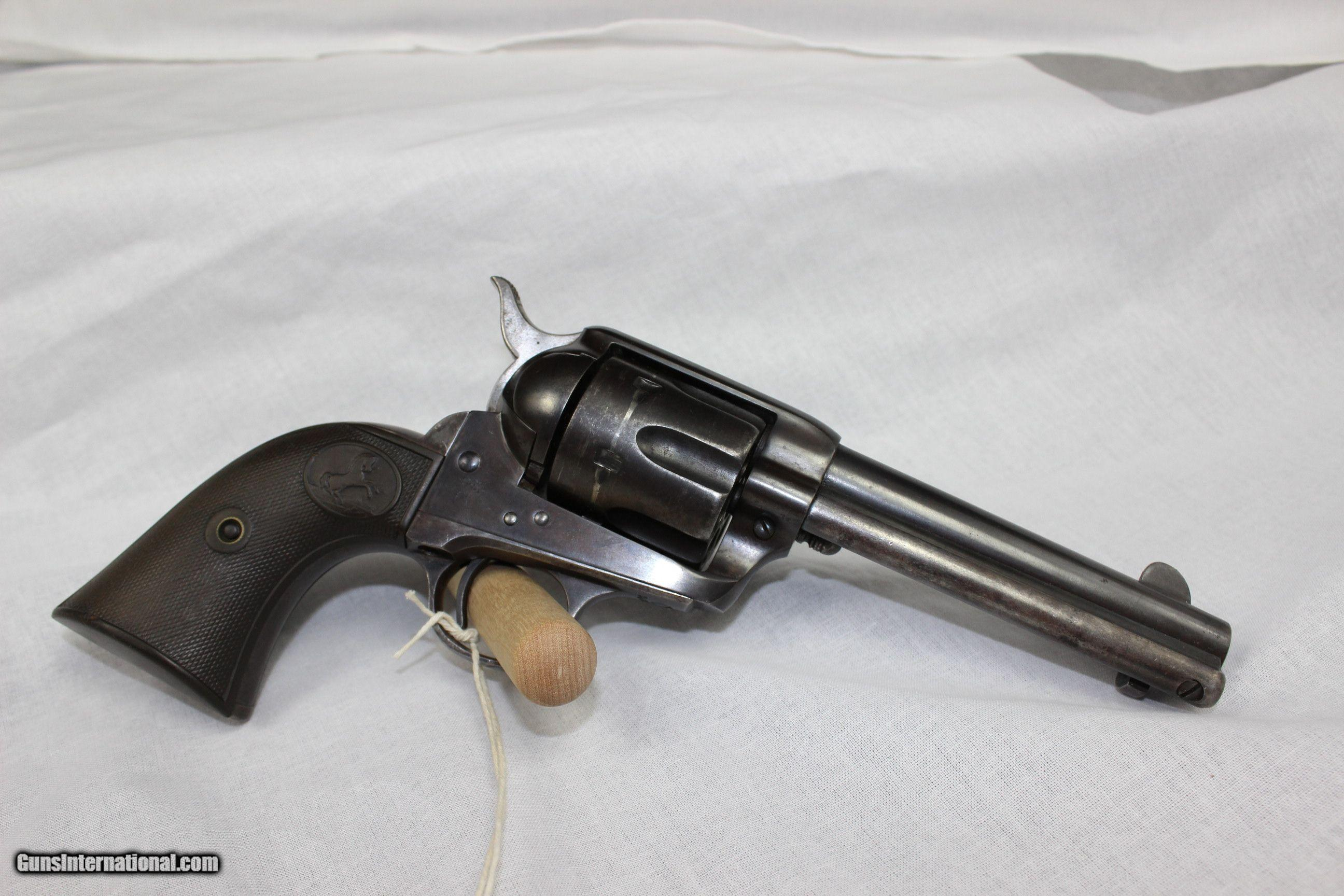 Colt Single Action Army .38 W.C.F. (.38-40 WInchester) - 1 ...