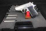 Walther Stnls PPK/S .380 Auto