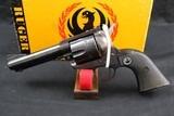 Ruger Blackhawk, old model flat-top, .357 mag