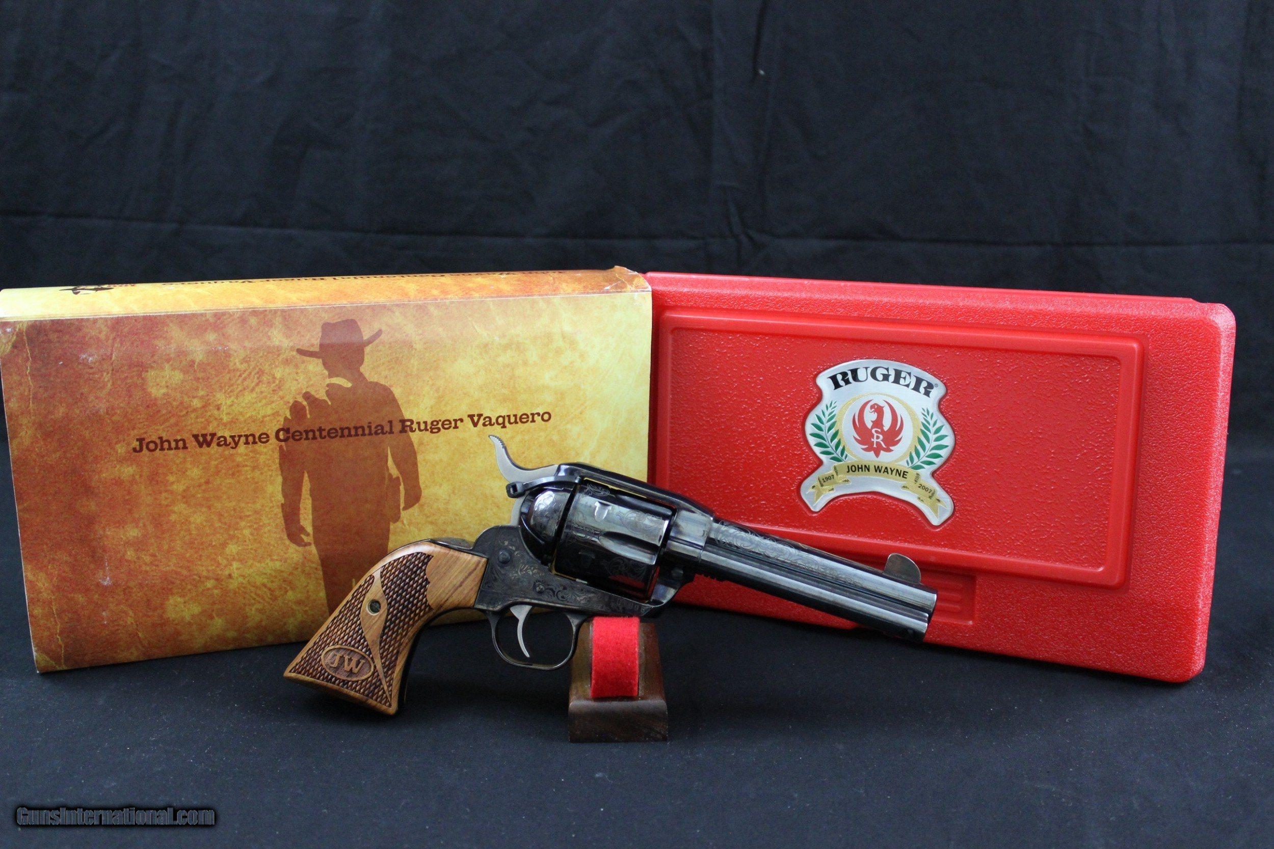 Ruger New Vaquero John Wayne Ltd