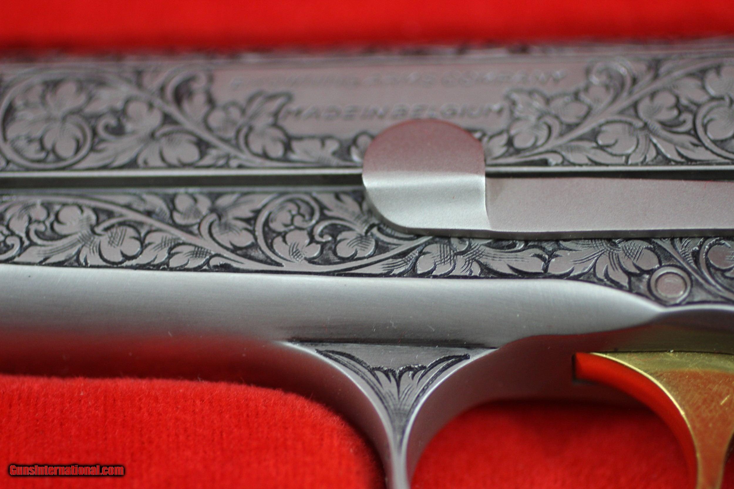 Browning Renaissance 3 pistol set, 9M/M, 380 and 25 A C P