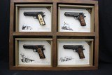 "Set of Colts,.45 Automactic Pistols,W.W.1. Commemorative,5"" bbl.,40 oz.,Mfg. 1968 - 10 of 10"