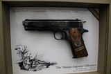 "Set of Colts,.45 Automactic Pistols,W.W.1. Commemorative,5"" bbl.,40 oz.,Mfg. 1968 - 3 of 10"