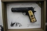 "Set of Colts,.45 Automactic Pistols,W.W.1. Commemorative,5"" bbl.,40 oz.,Mfg. 1968 - 2 of 10"