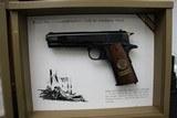 "Set of Colts,.45 Automactic Pistols,W.W.1. Commemorative,5"" bbl.,40 oz.,Mfg. 1968 - 5 of 10"