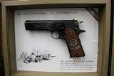 "Set of Colts,.45 Automactic Pistols,W.W.1. Commemorative,5"" bbl.,40 oz.,Mfg. 1968 - 4 of 10"