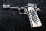 Colt Government Lisa Tomlin engraved series .45 A.C.P. - 4 of 20