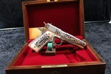Colt Government Lisa Tomlin engraved series .45 A.C.P. - 2 of 20