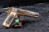 Colt Government Lisa Tomlin engraved series .45 A.C.P. - 6 of 20