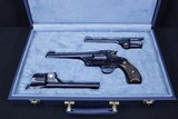 Smith & Wesson New Model No.3 Target Long Strap 3 BBL Set .44 S&W Russian .38-44 S&W .32-44 S&W