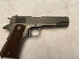 Vintage U.S. Military Ithaca Model 1911A1 .45 ACP Pistol - 1 of 9