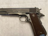 Vintage U.S. Military Ithaca Model 1911A1 .45 ACP Pistol - 2 of 9