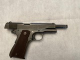 Vintage U.S. Military Ithaca Model 1911A1 .45 ACP Pistol - 5 of 9