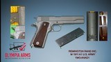 "Remington / Ithica 1940's M 1911 A1 U.S. Army, 45 ACP 5"" BBL, Service Grade - 8 of 8"