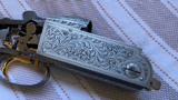Krieghoff K80 Gold Super Scroll Receiver and Forend Iron