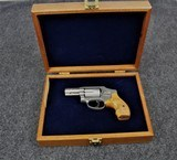 Smith & Wesson Model 640 Engraved in 357 Magnum