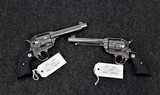 Ruger Vaquero SASS consecutive serial numbers Stainless Finish in caliber 45 Long Colt