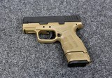 Springfield Model XD Mod2 in caliber 40 Smith & Wesson - 2 of 2