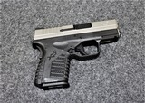 Springfield Model XDS45 in caliber 45 ACP