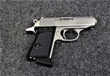 Walther Model PPK Stainless in caliber .380ACP