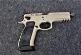 CZ Model 75 SPO1 Tactical in caliber 9mm caliber