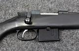 CZ Model 527 American TB in 6.5 Grendel caliber. The barrel has a threaded barrel - 1 of 8