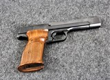 Smith & Wesson Model 41 in caliber 22 Long Rifle.