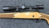 Winchester Model 70 Super Grade Maple in caliber 30/06 with a Zeiss 4X14X44 Scope - 5 of 9