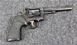 Smith & Wesson Model 48-3 in caliber 22 Magnum with the 6 Inch barrel