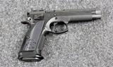 CZ Model 75 TS Czechmate in caliber 9mm
